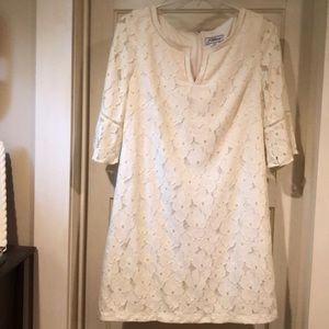 J Howard Fully Lined Lace Dress 18